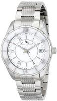 Lucien Piccard Women's LP-12741-22-WCB Saraille Analog Display Japanese Quartz Silver Watch
