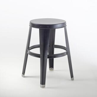 La Redoute Interieurs BENDO Galvanised Metal Stool