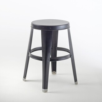 La Redoute Interieurs Bendo Galvanised Steel Stool
