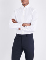 Paul Smith Mens Light Blue Striped Shirt