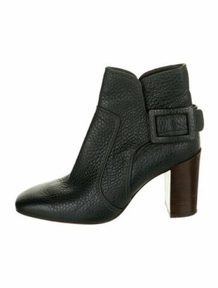 Roger Vivier Leather Boots Green
