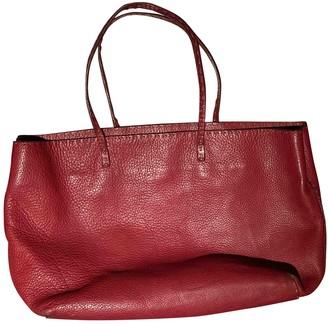 Fendi Roll Bag Red Leather Handbags