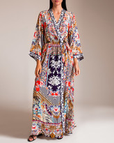 Camilla The Lonely Wild Long Sleeve Wrap Dress
