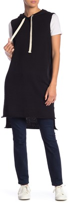 360 Cashmere Vicki Sleeveless Hooded Hi-Lo Pullover