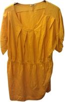 Miu Miu Yellow Cotton Dress