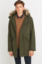 Fred Perry Fishtail Thorn Wool Parka