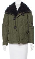 DSQUARED2 Shearling-Lined Down Coat