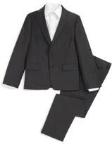 Michael Kors Boy's Check Wool Suit
