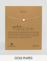 Dogeared Gold Filled Pearls of Friendship Bracelets
