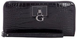 GUESS CM787546BLA Stephi Zip Around Wallet