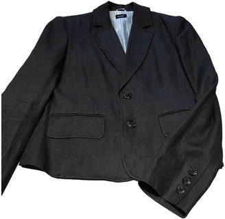 Hobbs Brown Linen Jacket for Women
