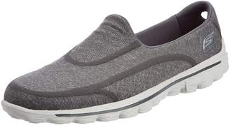Skechers Gowalk 2 Super Sock Women's Walking Shoes - Grey (Charcoal) 5.5 UK (38 1/2 EU)