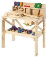 64 Piece Toy Wood Workbench