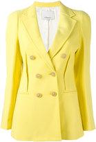 3.1 Phillip Lim double breasted blazer - women - Cotton/Polyamide/Viscose - 6