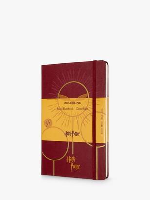 Moleskine Large Harry Potter Quidditch Lined Notebook