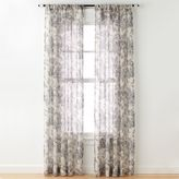 CHF Sheer Floral Window Panel - 50'' x 120''