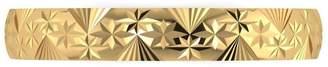 Love Gold 9ct Gold Diamond Cut Wedding Band
