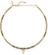 New York & Co. Beaded Choker Pendant Necklace