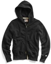 Todd Snyder + Champion Classic Zip Hoodie in Black
