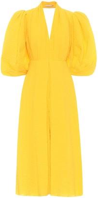 Emilia Wickstead Deva open-back cotton gown