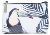 Catseye London Toucan Top Zip Pouch
