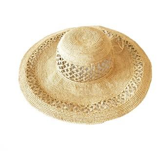 Maraina London Christie Large Raffia Sun Hat Natural