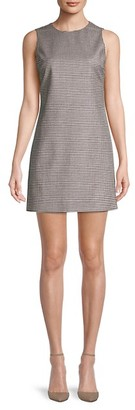 Alice + Olivia By Stacey Bendet Coley Houndstooth Dress