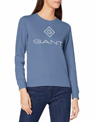 Gant Women's D1 Lock Up C-Neck Sweat Sweater