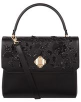 Elie Saab Embellished Top Handle Bag