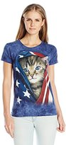 The Mountain Junior's Patriotic Kitten Graphic T-Shirt
