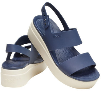 Crocs Brooklyn Low 206453 Navy/Stucco Sandal