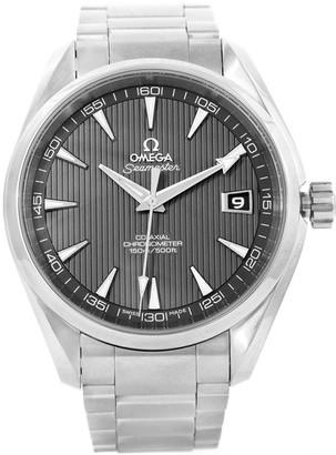 Omega Grey Stainless Steel Seamaster Aqua Terra Co-Axial 231.10.42.21.06.001 Men's Wristwatch 41.5MM