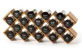 Kamenstein Bamboo Criss-Cross 18-Jar Spice Rack