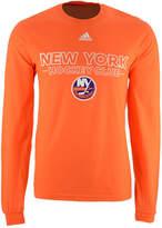 adidas Men's New York Islanders Frontline Long Sleeve T-Shirt