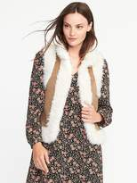 Old Navy Faux-Fur Shearling Vest for Women
