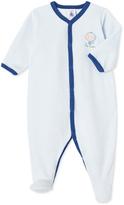 Petit Bateau Baby pajamas in velours