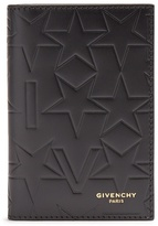 Givenchy Bi-fold embossed leather card holder