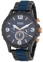 Fossil Men's Nate Bracelet Watch, 50mm