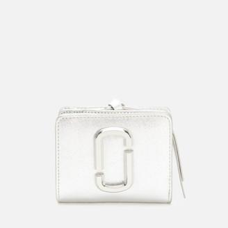 Marc Jacobs Women's Mini Compact Wallet - Silver