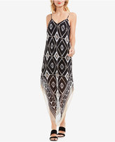 Vince Camuto V-Hem Illusion Midi Dress