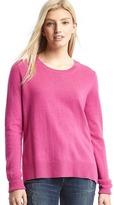 Merino wool blend crewneck sweater