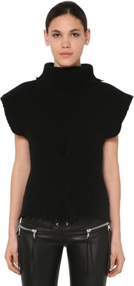 Unravel Structured Wool Blend Top