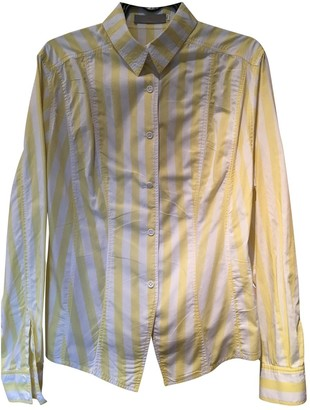 Chantal Thomass Yellow Cotton Top for Women