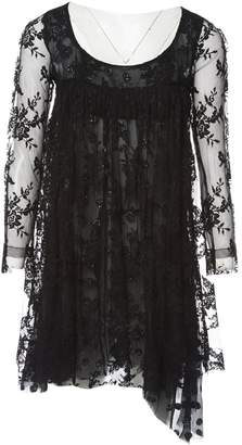 Meadham Kirchhoff Black Synthetic Dresses