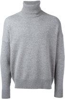 Ami Alexandre Mattiussi oversize turtle-neck sweater - men - Cashmere/Wool - XS