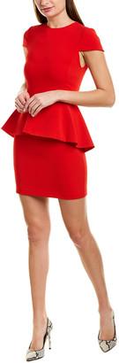 Alice + Olivia Ember Peplum Sheath Dress