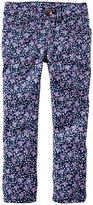 Osh Kosh Print Skinny Jeans (Toddler) - Floral Print-2T
