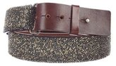 Dries Van Noten Beaded Metallic Belt