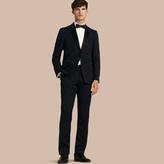 Burberry Modern Fit Virgin Wool Half-canvas Tuxedo , Size: 54r, Blue