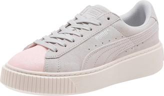 Puma Suede Platform Glam Girls' Sneakers